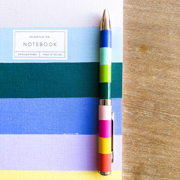 Rainbow Notebook + Pen