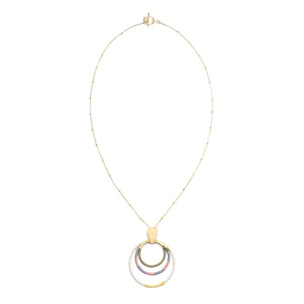 Kaia Necklace - Dawn Hoops