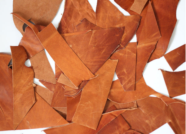 A Leather Scrap Pack