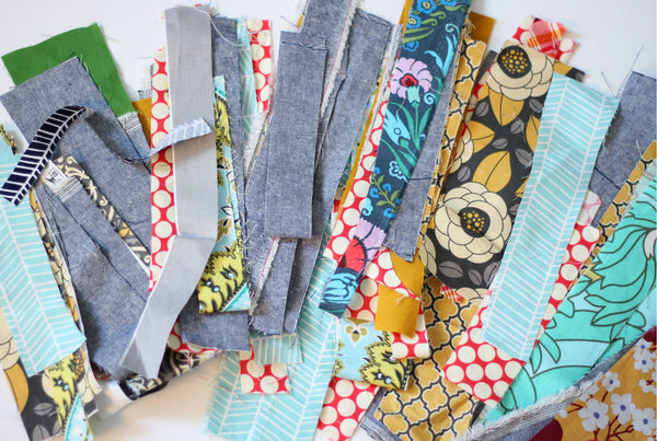 Scrap Pack - Fabric Strips