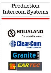 Production Intercom Systems