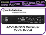 ATW-R2100/ATW-T210 Bodypack Audio-Technica Wireless System (ATW2110 ATW-2110b) (Retail)