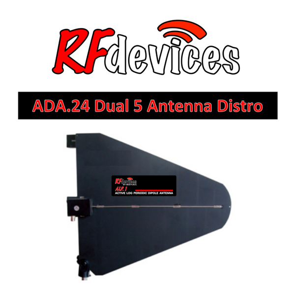 ALP1 Antenna Active LPDA Directional Paddle  - BNC (470-900MHz) Wireless System RFdevices