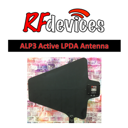 ALP3 Antenna Active LPDA Directional Paddle  - BNC (470-900MHz) with gain selector