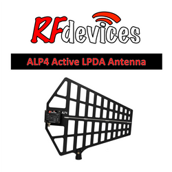 ALP4 Antenna Active LPDA Directional Paddle  - BNC (470-900MHz) with gain selector
