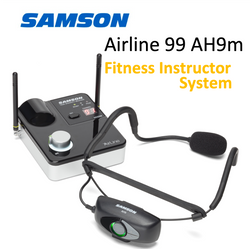 Wireless System for Fitness Instructors - Samson SW9A9SQE UHF with headset
