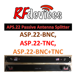 APS.22 - Dual 2 way Passive Antenna Splitter by RFdevices