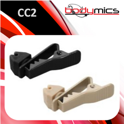 i. Metal-Rubber Cable Clip Black or Cream - CC2b, CC2c