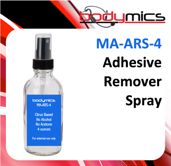 a. Adhesive Removal Spray - MA-ARS Cleaning Agent - 4oz Spray Bottle