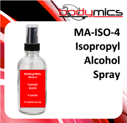 a. Cleaning Agent - Isopropyl Alcohol - 4oz Spray Bottle (MA-ISO)