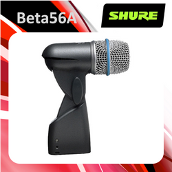 Shure Beta56A - Super Cardioid Dynamic Instrument Microphone