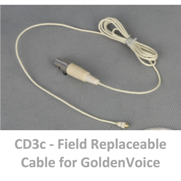 g. Field Replacement Cable for Mission/GoldenVoice Mic Elements - CD3c