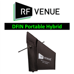 RF Venue Wireless DFIN passive wideband LPDA/Dipole antenna 470-698MHz