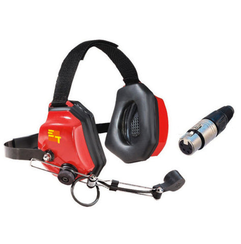 Headset for Intercom System - Eartec Xtreme for Loud Environments - available for most system