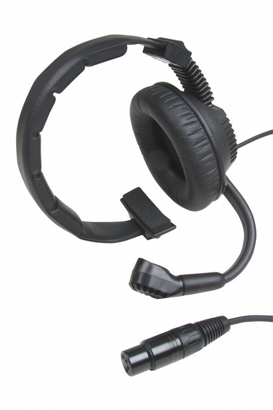 Partyline Intercom Headset - Left side mic, single muff - Granite Sound CH1MS