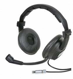 Partyline Intercom Headset - Left side mic, dual muff - Granite Sound CHS2MS