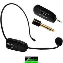 Keira KW-LTR/HTR mini 2.4gHz wireless system for laptop/phone streaming - lavalier or headset model
