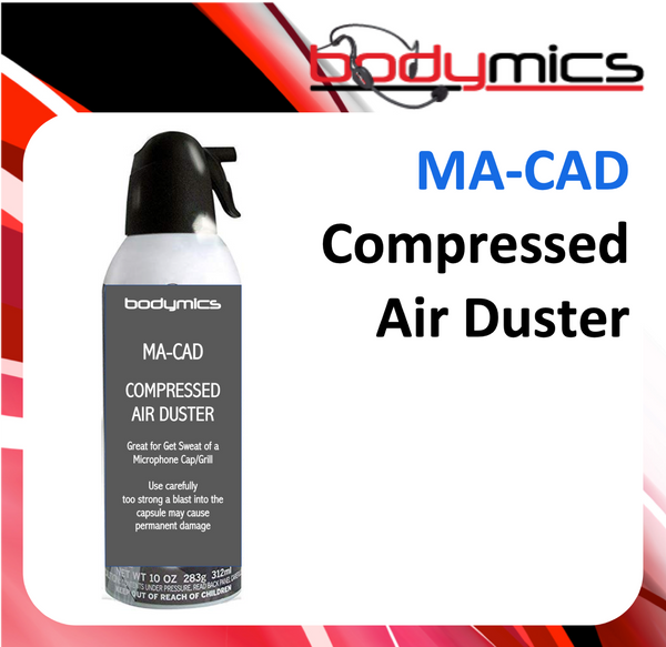 a. Air Duster - Compressed - MA-CAD Cleaning Agent - Blow out sweat