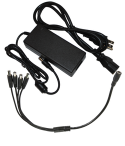 PDB Power Brick 12 or 15v DC, 5A select number of DC outputs, AC cable length,