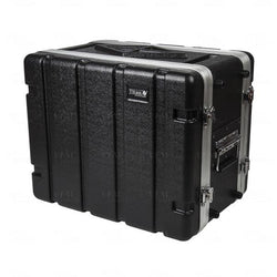 "8u ABS/Aluminum Rack - 12"" Rail to Rail 16"" overall - Storage Pouch in Lid (RFdevices)"