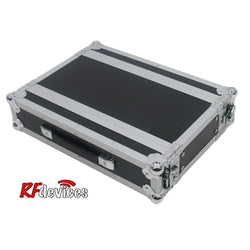 "2u ATA Ply/Aluminum Shallow Rack - 10"" Rail to Rail 16.5"" overall - Storage Pouch in Lid (Stow'd)"