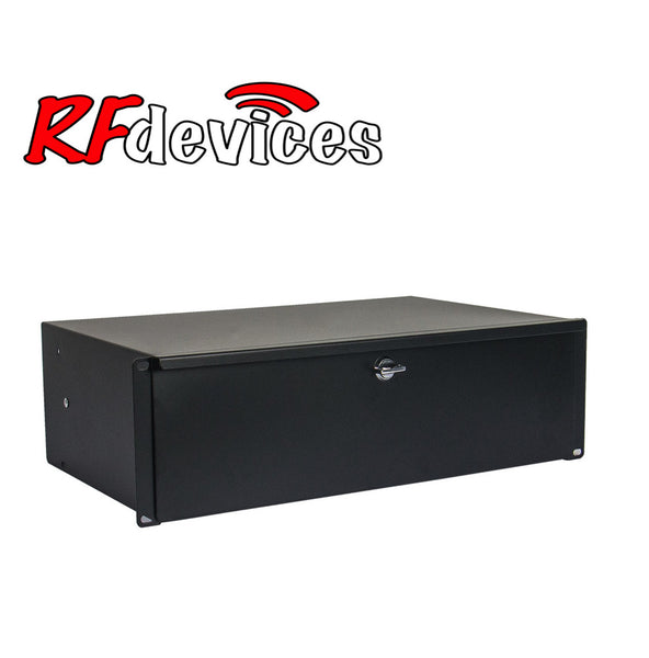 "3u Rack Drawer - 11"" with lock RC-D11-3u  (RD)"