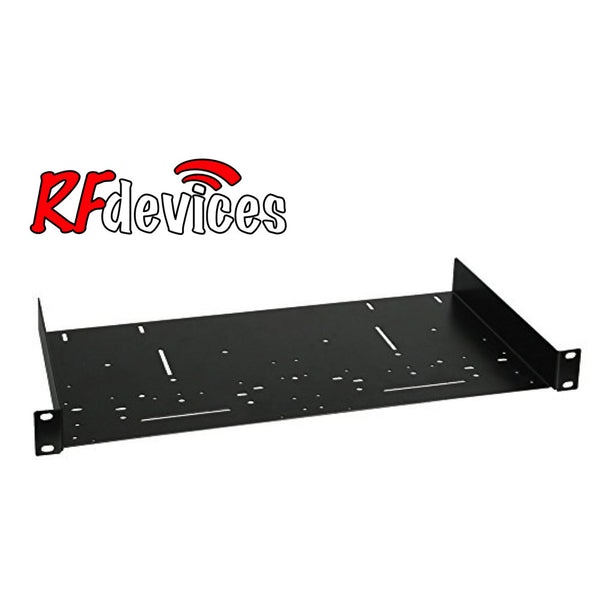 "1u  Rack Shelf - 9.8"" deep Universal RC-S10-1u  (RS)"