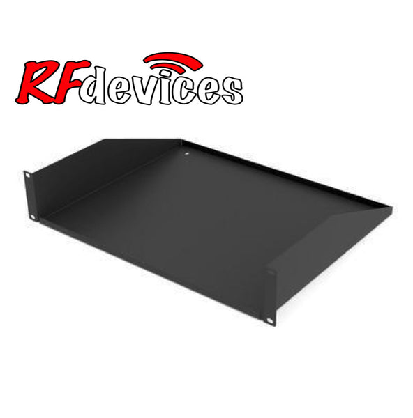 "2u  Rack Shelf - 14.5"" deep no holes RC-S14-2u  (RS)"