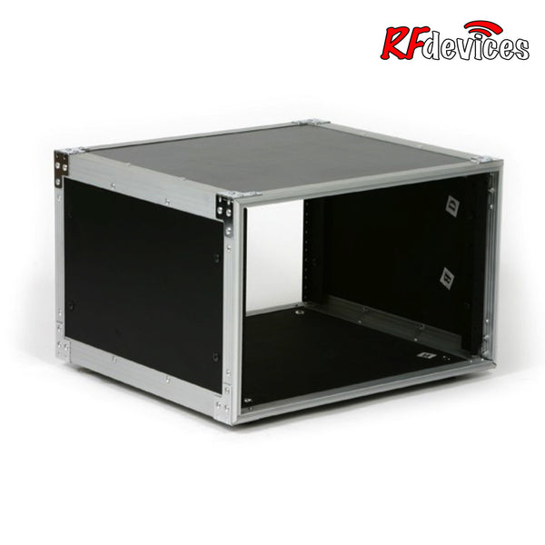 "6u Studio Rack Shell  - 14"" Rail to Back Front Rails only - (RFdevices)"