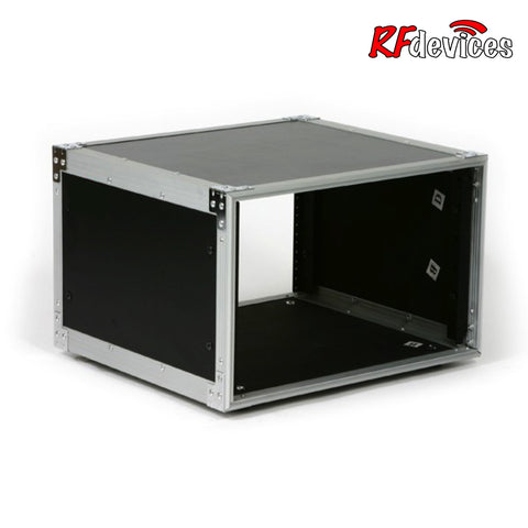 "Studio Rackcase Shell 6u  - 14"" Rail to Back Front Rails only - (RFdevices)"