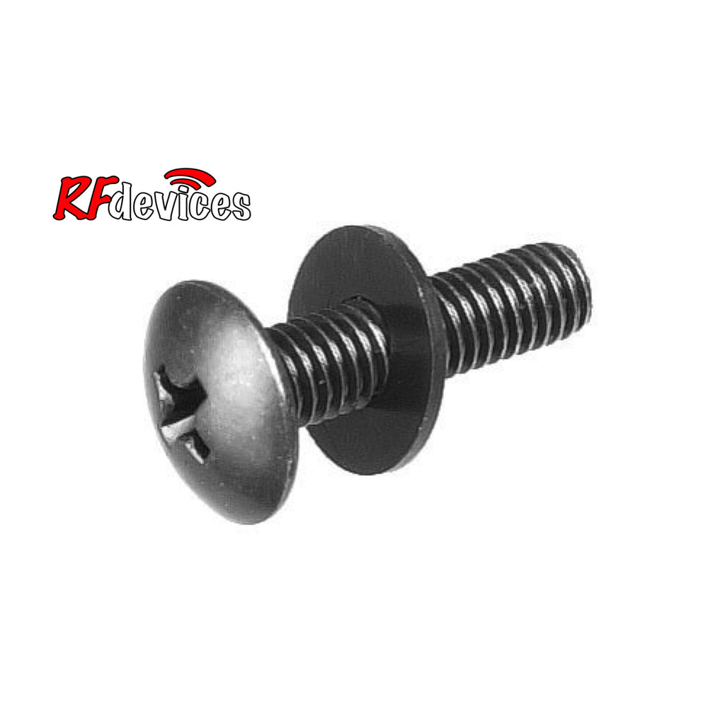 "Rack Screw 3/4"" x10-32 with washer - 16 per pack - Quantity Discounts Apply - (RF)"