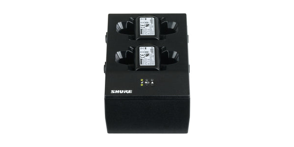 y. SBC200 Dual Charger for SB900A Lithium Ion Battery - Shure Wireless Systems QLXD, ULXD