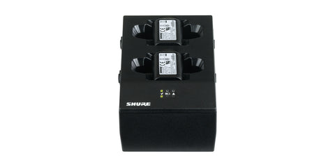 y. SBC200 Dual Charger for SB900A Lithium Ion Battery - Shure Wireless Systems QLXD, ULXD (Retail)