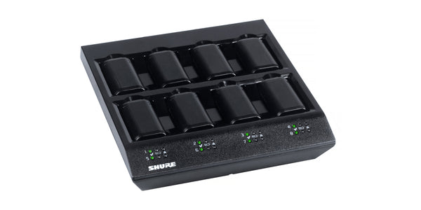 y. SBC800-US 8 bay Charger for SB900A Lithium Ion Battery - Shure Wireless Systems QLXD, ULXD