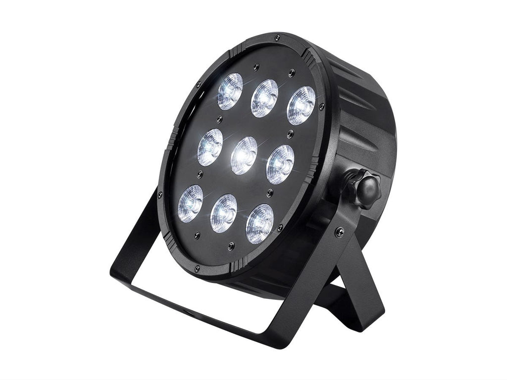 Lighting wash - 90w 10x RGBW LED SLIM Fixture 8 DMX channels   SLP90-RGBW