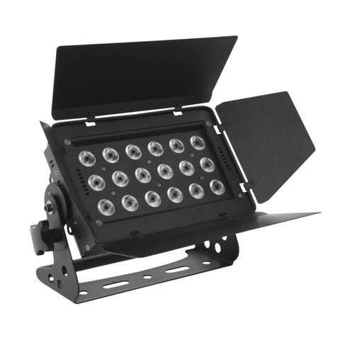 Lighting wall wash - 144w 18x RGBA LED Fixture 4 or 6 DMX channels  25 degree SLW144-RGBW
