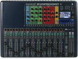 Soundcraft Si Expression 2 24 Mic Pre 66 channel Digital Mixer
