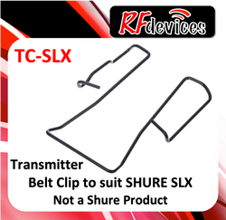 z. Belt Clip for Shure SLX Bodypack Transmitter TC-SLX