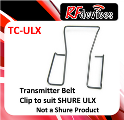 z. Belt Clip for Shure ULX1 Bodypack Transmitter TC-ULX