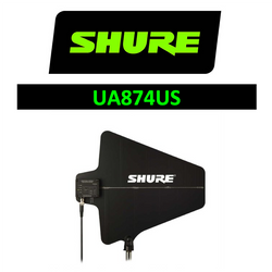 Shure Wireless UA874US LPDA Directional Antenna Paddle UHF