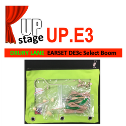 "UPstage UP.E3 1/10"" Earset Mic Kit for Theatre - Select Boom 4.2"", 3.3"", 1.4"" - great value"