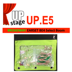 "UPstage UP.E5 3/16"" Earset Mic Kit for Theatre - Select Boom 4.2"", 3.3"", 2.5"" 1.4"" - great value"