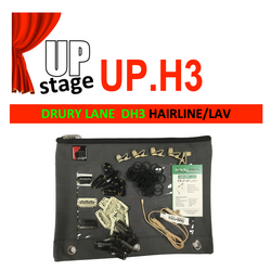 "UPstage UP.H3 1/10"" omni Headset Mic Kit for Theatre - most brands - great value - Grain of Rice"