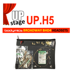 "UPstage UP.H5 3/16"" omni Headset Mic Kit for Theatre - most brands - great value - ""Near Invisible"""