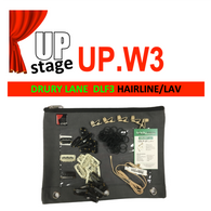 "UPstage UP.W3 1/10"" Hairline Wig Mic Kit for Theatre - most brands - great value - Grain of Rice"