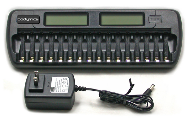 Intelligent AA battery Charger Bodymics BCT-16A