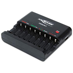 Intelligent AA/AAA battery Charger Ansmann PowerLine 8US