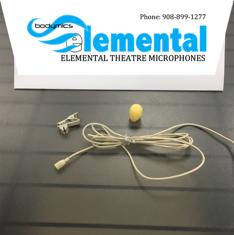Elemental Series - ETM3 Contractor Packs of quality Lavalier - Wig - Hair