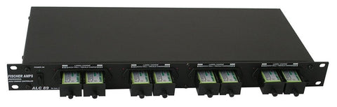 Intelligent Rack Mount 8x 9v battery Charger Fischer Amps - ALC 89