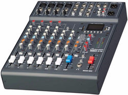 Club XS 8 - Studiomaster 4 mic channels, 2 stereo, MP3 Player, Compressors (Small Mixer)